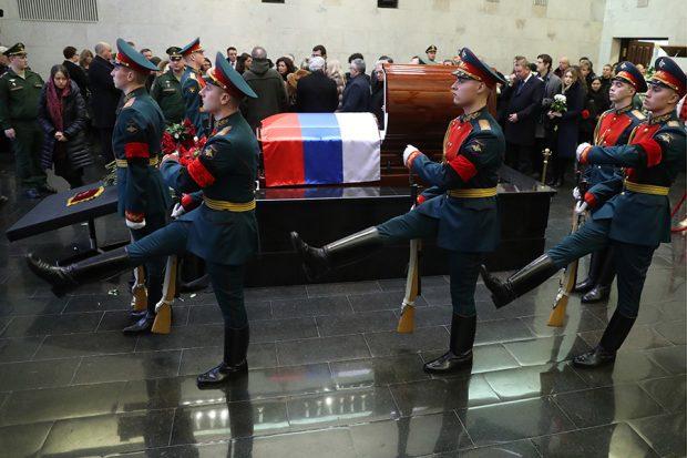 В Москве состоялась церемония прощания с Виталием Чуркиным