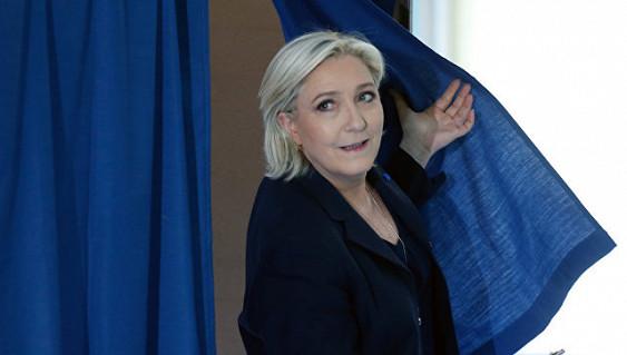 МВД Франции: Ле Пен на выборах набирает 24,15%