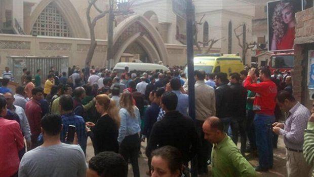 В Египте произошёл взрыв рядом с христианским храмом