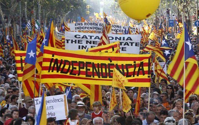 Каталония покидает Испанию