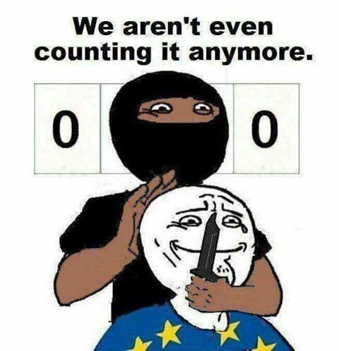 Мусульмане напали на французскую полицию