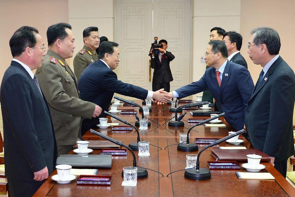 Север и Юг за столом переговоров