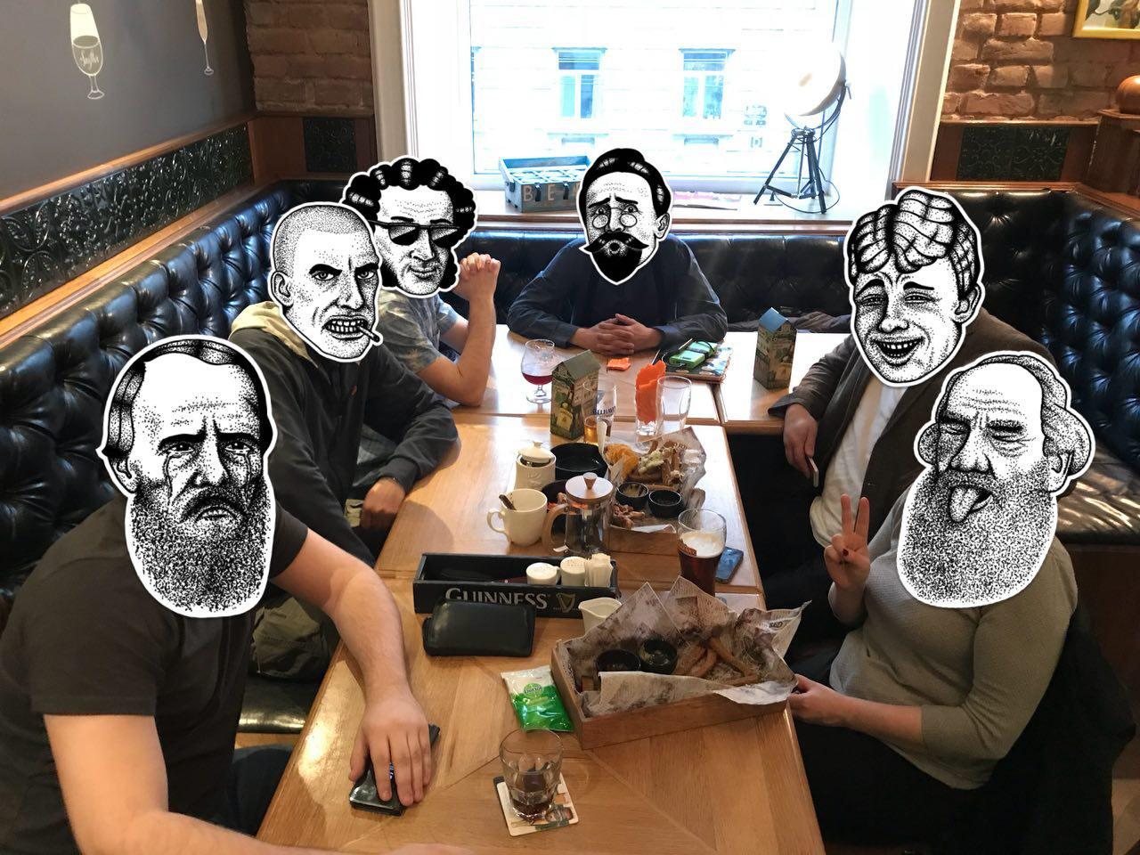 Встреча 14 апреля, Санкт-Петербург