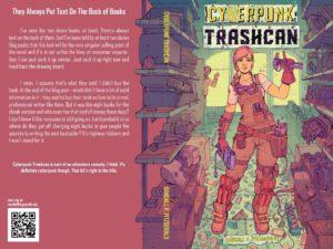Обложка книги Cyberpunk trashcan Рэндала Фицджеральда