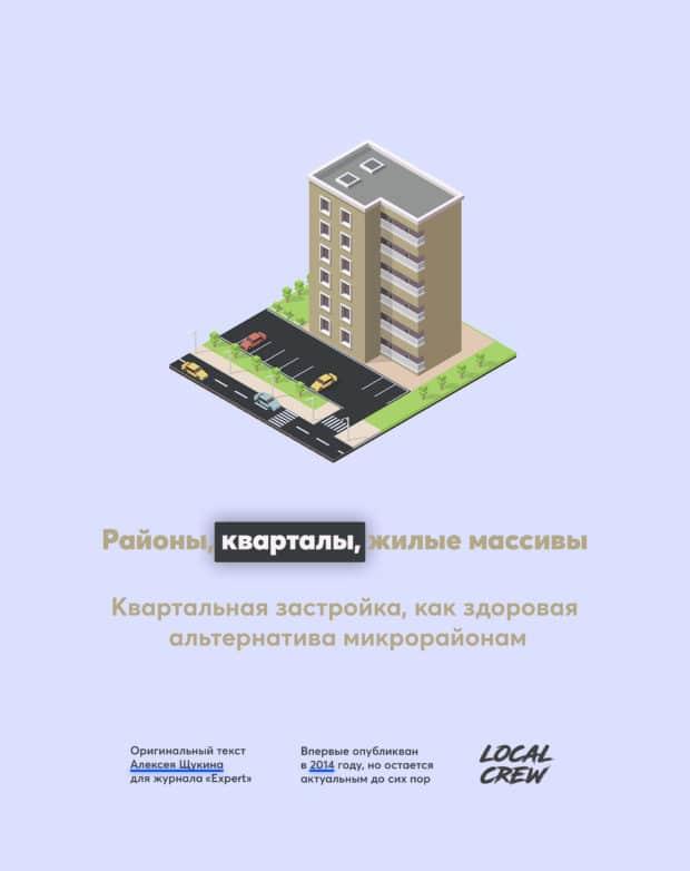 Районы, кварталы, жилые массивы