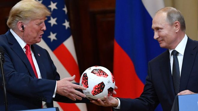 Путин, Трамп и Бутина