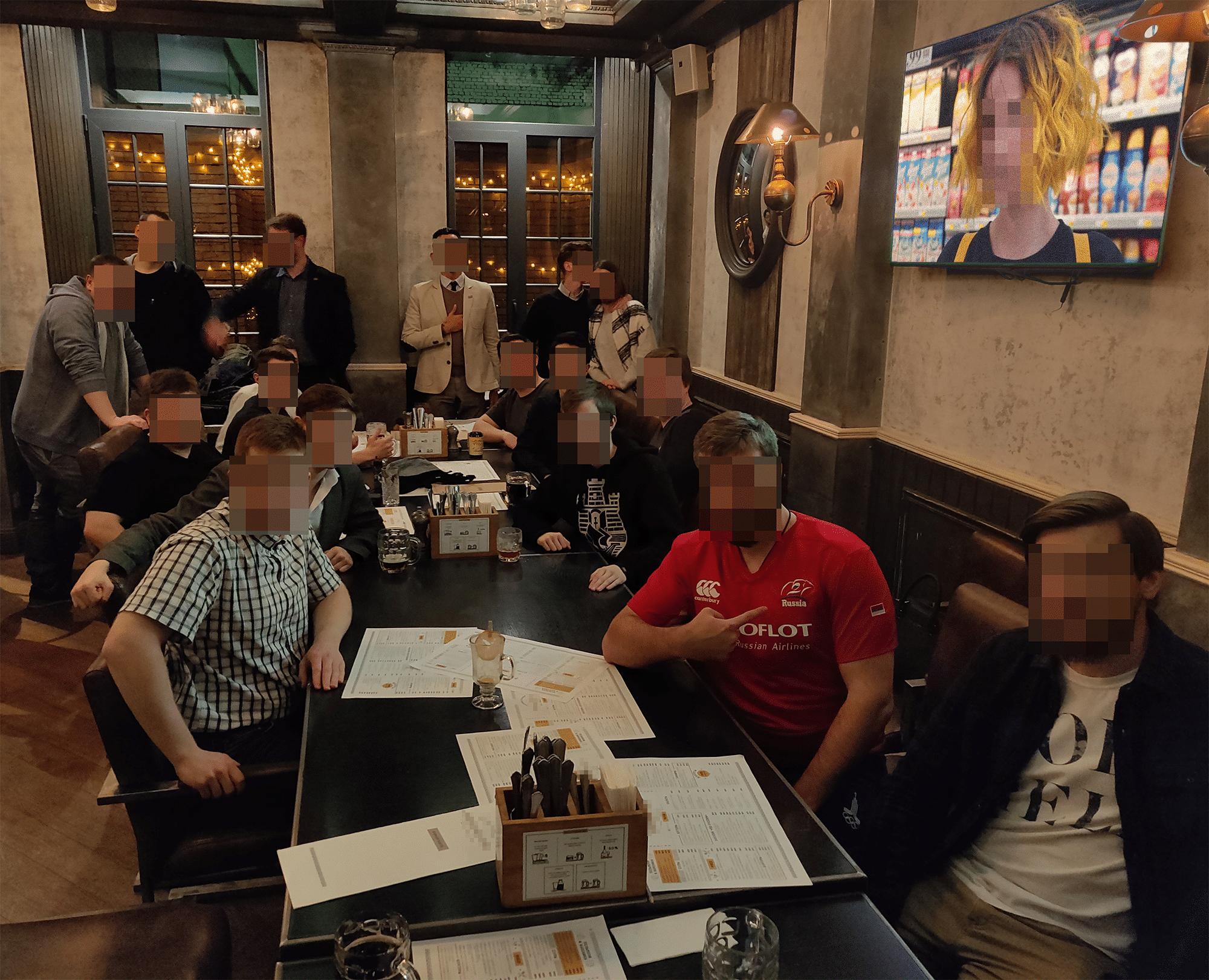 Встреча в Москве, 25 октября