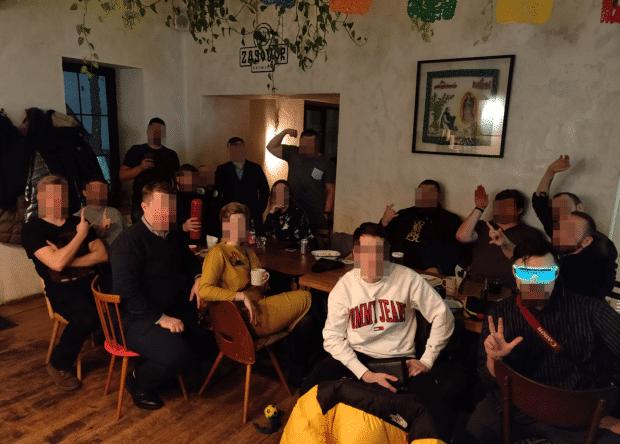 Встреча в Москве, 23 ноября