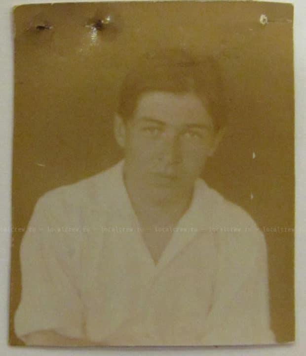 Прошение Гайто Газданова на предоставление стипендии, 1923 год