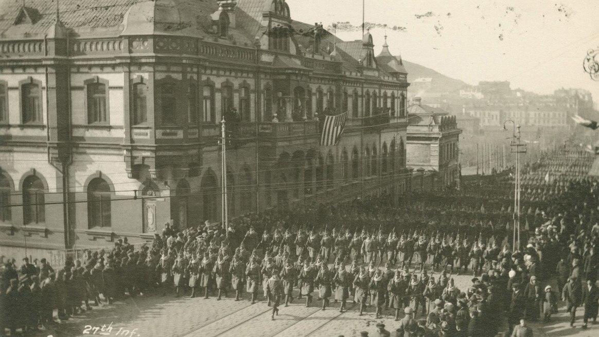 Американские войска во Владивостоке