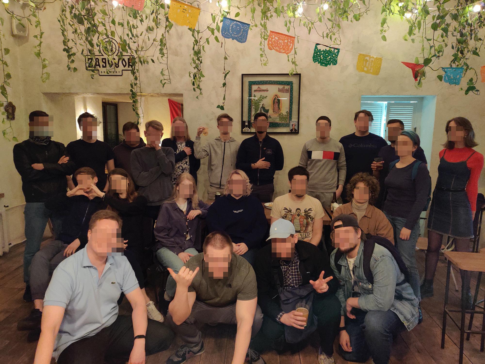 Встреча в Москве, 11 апреля