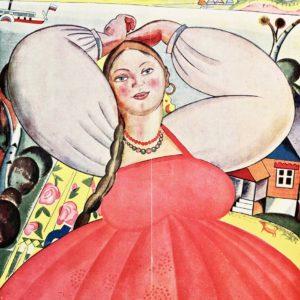 Какой эмигранты рисовали Россию